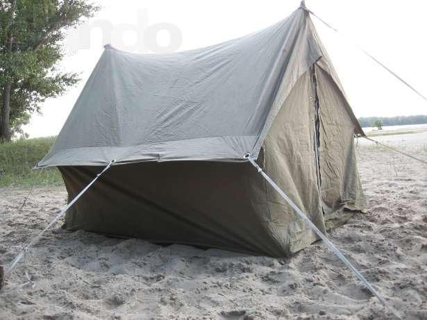 Палатка своими руками брезентовая