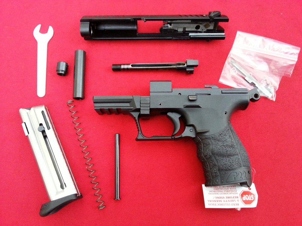 Продам ммг пистолета walther p-22 laser z128577