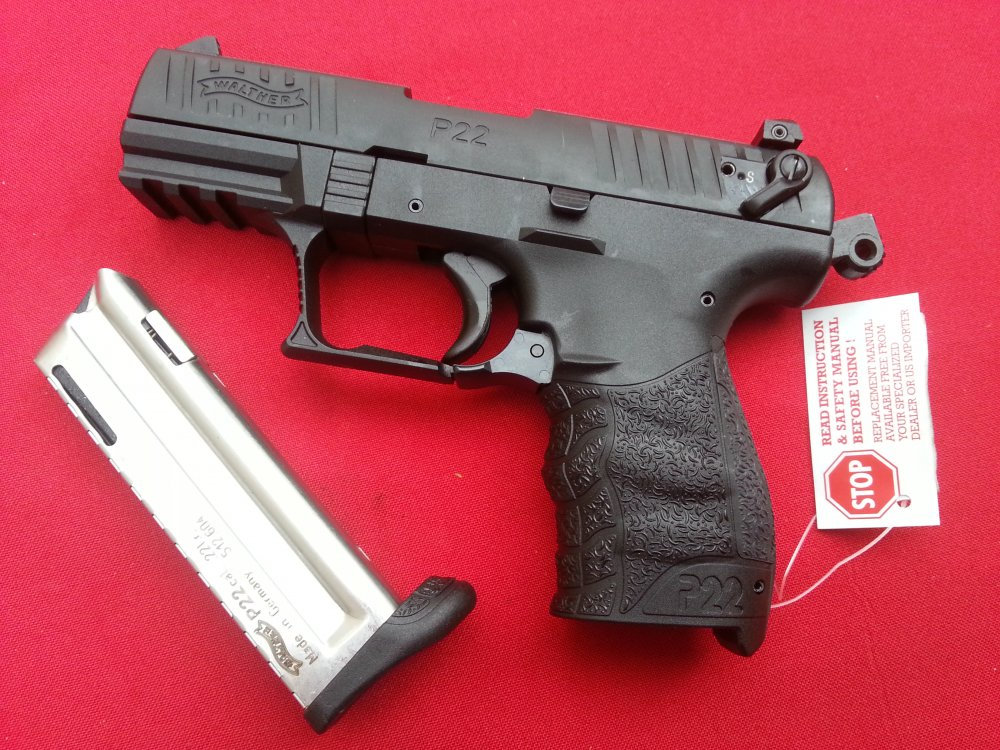 Продам ммг пистолета walther p-22 laser z128574