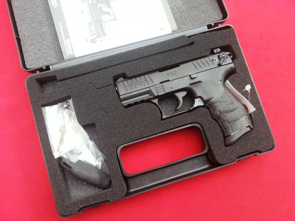 Walther p22 3 42 quot od green w 2 magazines lnib guns gt pistols g