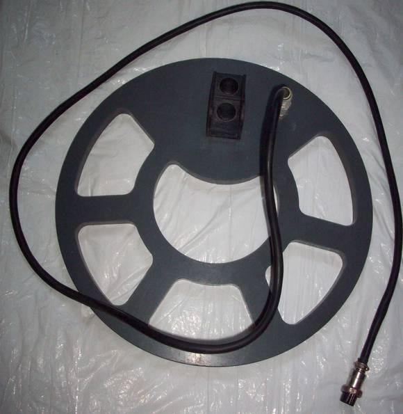 Катушка датчик 28см моно к металлодетектору сенатор + болт: .