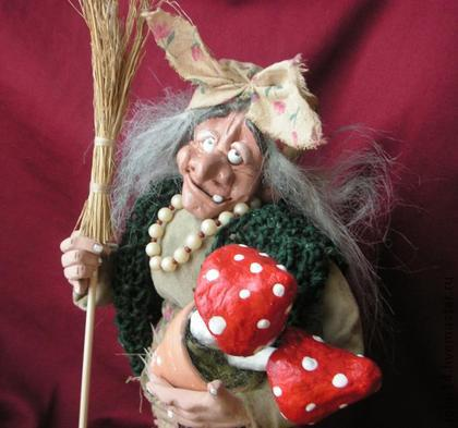 игрушка баба яга своими руками