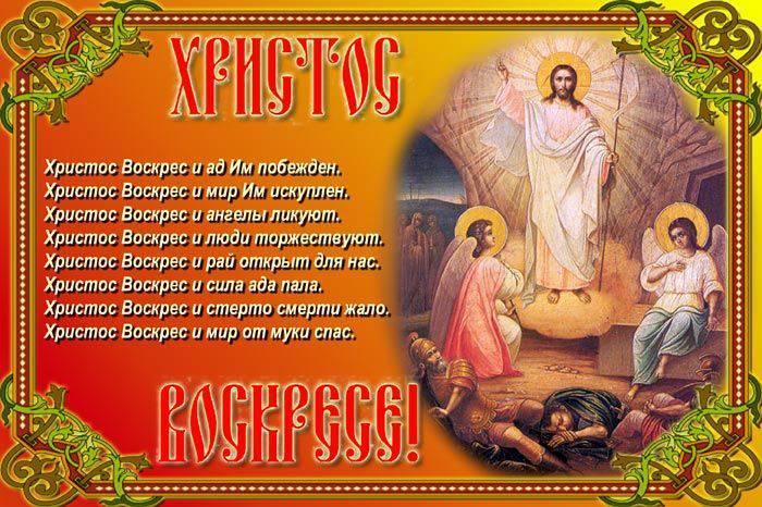 Поздравление с христовым воскресением открытки
