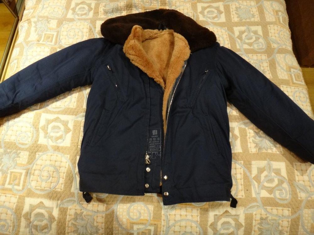 Куртка летчика ввс зимняя меховая