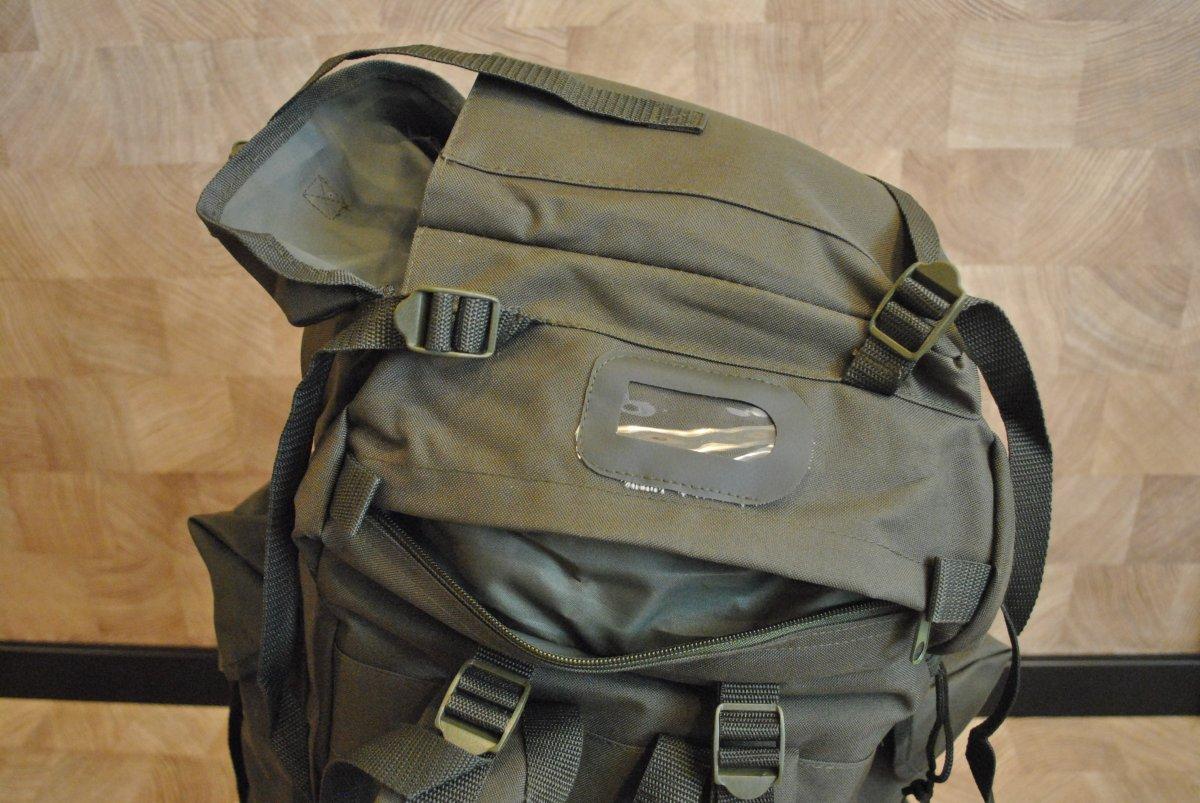 Рюкзак mil-tec bw kampfrucksack od усеченный рюкзак спереди