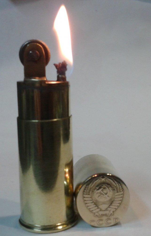 Как из гильзы сделать зажигалку фото 662
