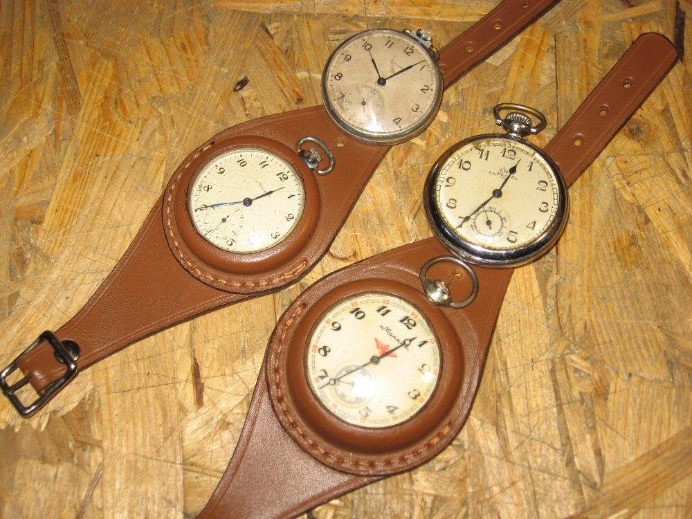 Ремешок для карманных часов сшить своими руками