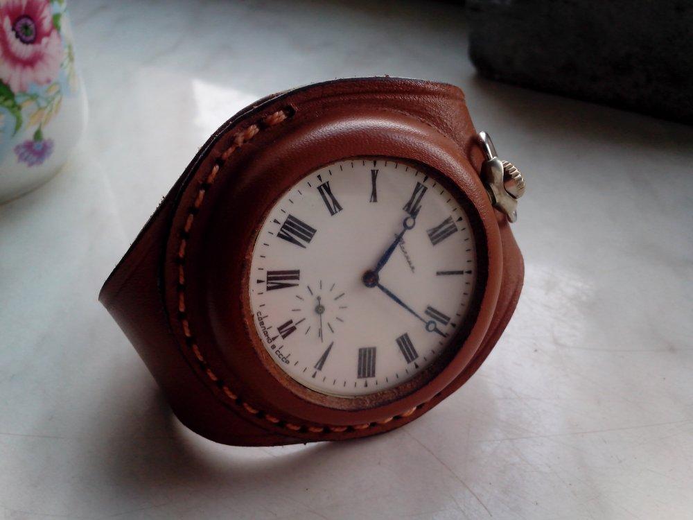 Ремешок для карманных часов на руку своими
