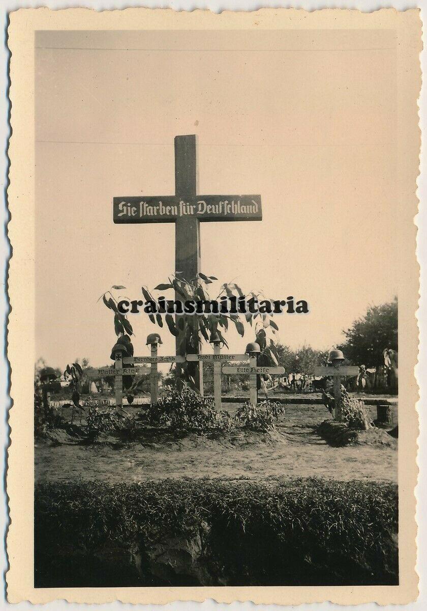 Кладбище немецких солдат в Фастове, Украина июль 1941 г. (2).jpg