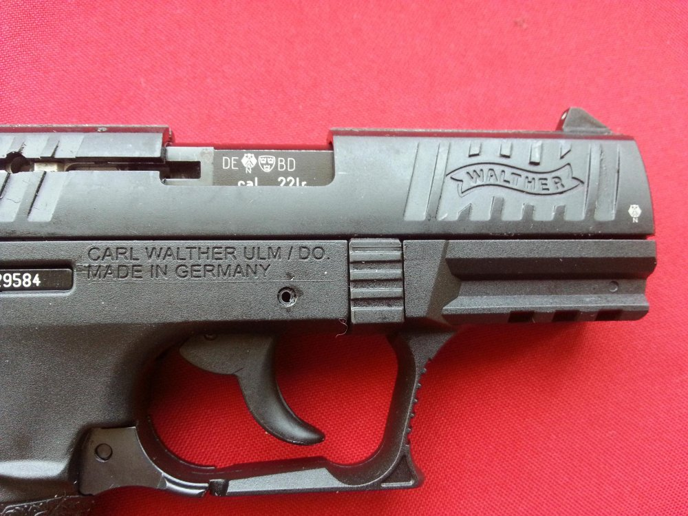 Walther p 22 22lr 5 barrel guns pistols post picture pin