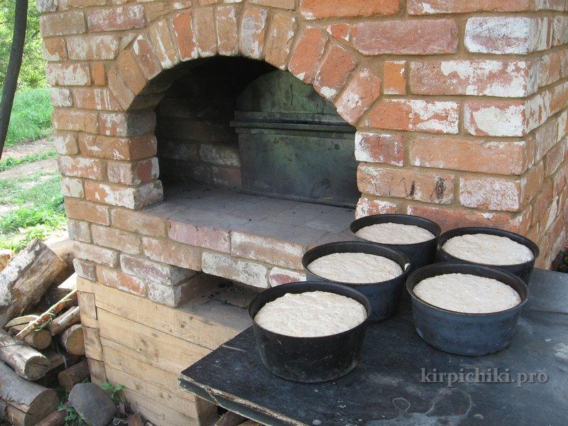Как сделать своими руками на улице русскую печь