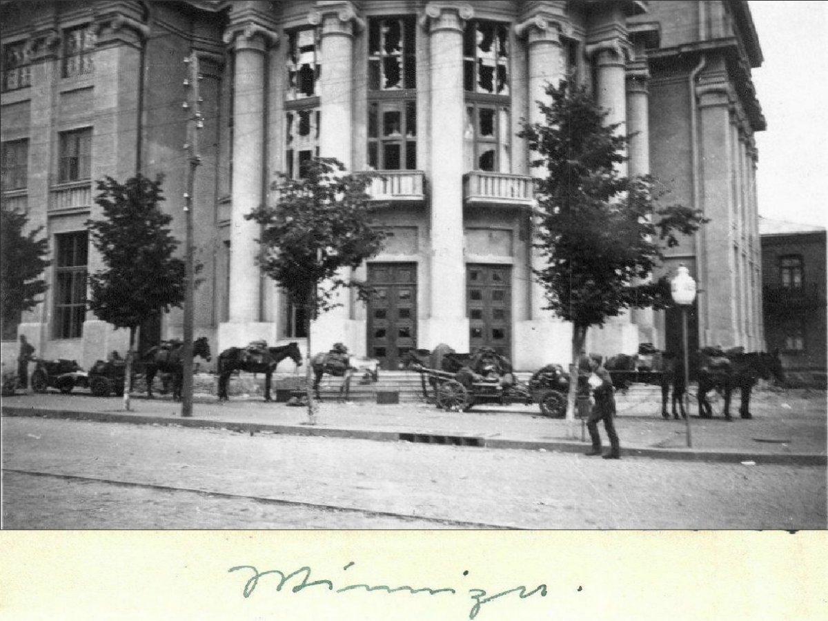 Винница Название продавца Winniza Bespannte Einheit macht Rast (Обоз на привале) 1941 г..jpg