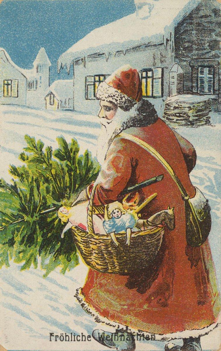 Приезжай, открытки 18-19 века на новый год