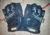 Mechanix 2013 M-Pact Fingerless. Black  XL.