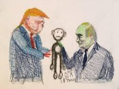 Я не знаю, що відбувалося на зустрічі Трампа з Путіним, це прерогатива президента, - глава розвідки США - Цензор.НЕТ 4763