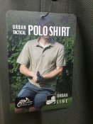 Футболка поло Helikon-Tex UTL® Polo, Olive Green, розмір L. Новий товар.