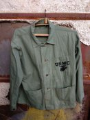 Кітель морської піхоти США 1941-1945 WWII USMC P41 Jacket Green Herringbone Twill Windtalkers