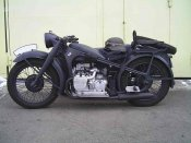 Мотоциклы БМВ военных лет #11