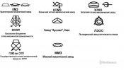 Эмблемы трансформаторных заводов ссср
