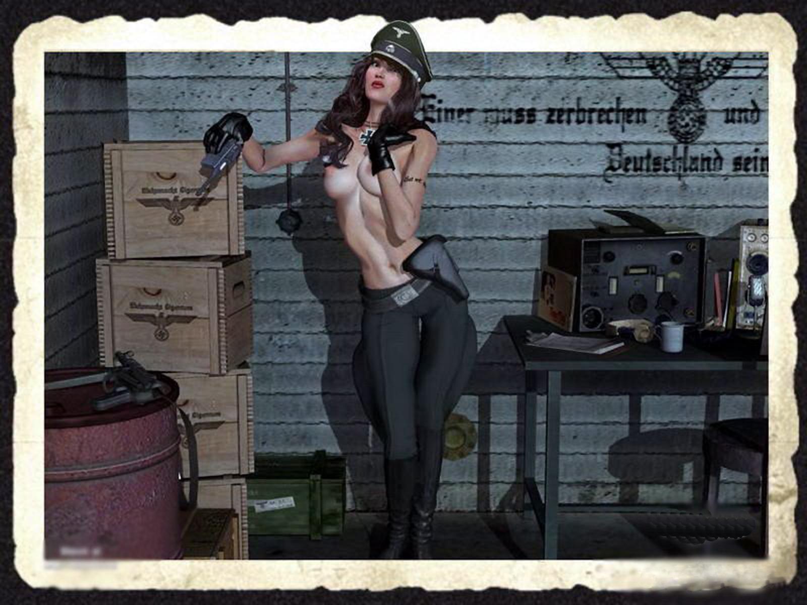 порно война вторая мировая