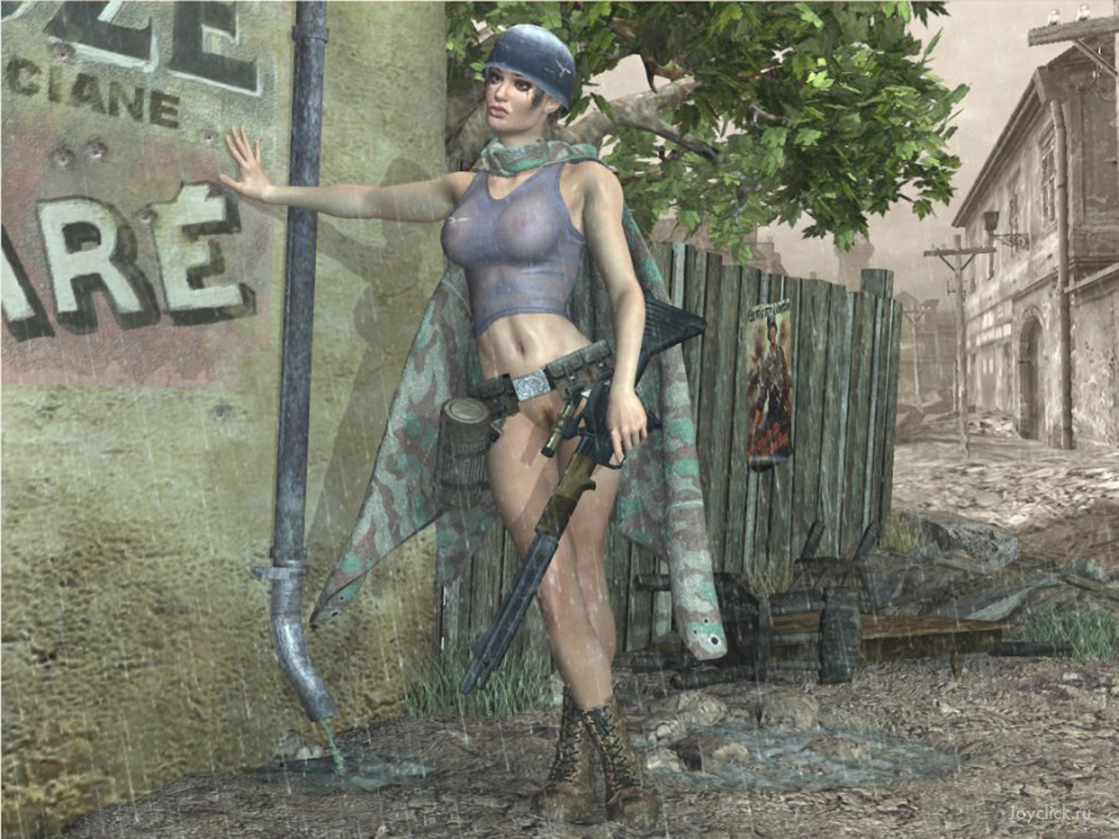 Фото порно на войне