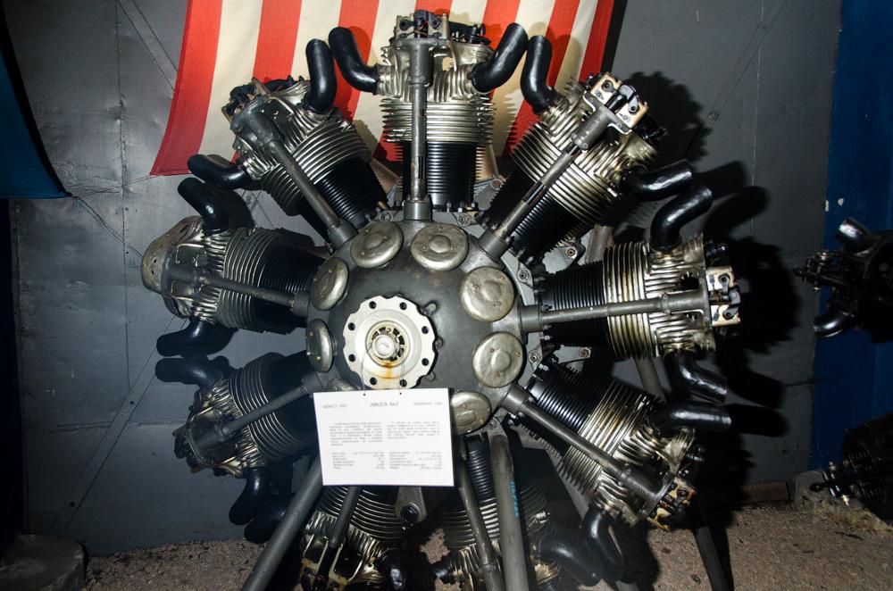 Радиальный двигатель!