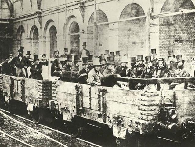 Первый поезд Лондонского метро, 1862 год