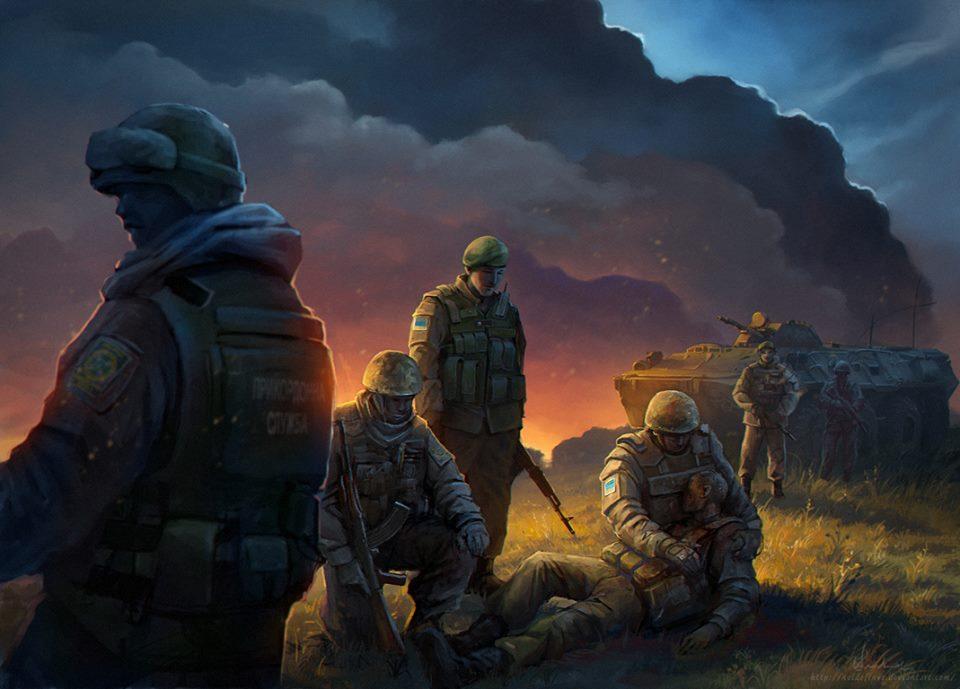 Наемники РФ сегодня выпустили 29 мин из 120- и 82-мм минометов в районе трех населенных пунктов на Донбассе, - СЦКК - Цензор.НЕТ 5333
